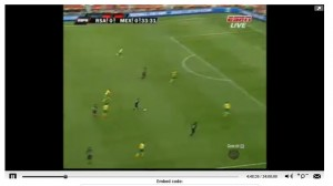 Watch high quality  FIFA world cup 2010 streaming online