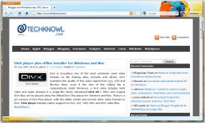 Download Firefox 4 portable installer