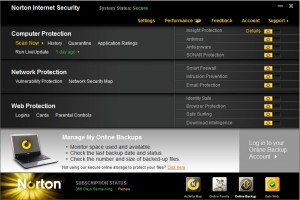 Norton Internet Security 2011 product