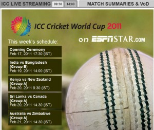 ESPN Star Live streaming  300x253 Watch Cricket World cup 2011 live online streaming legally