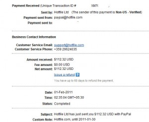 hotfile payment proof 300x246 Make money from Hotfile by uploading files