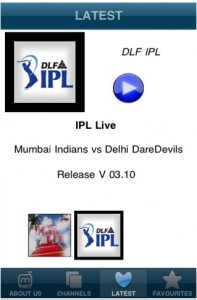 DLF IPL 4 on mobile