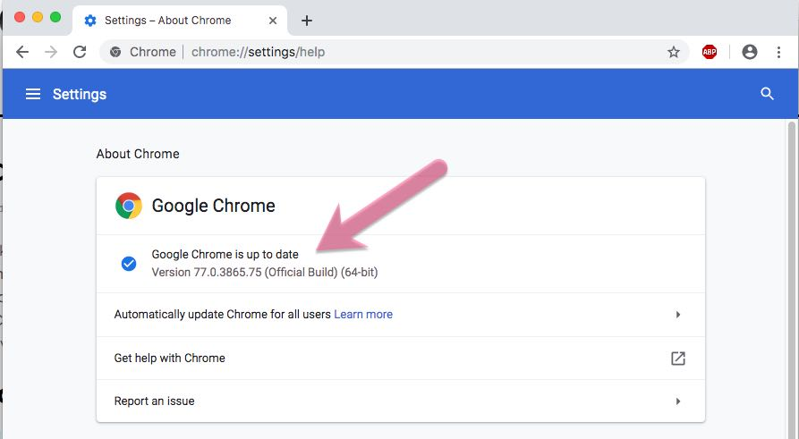 Google Chrome offline installer update