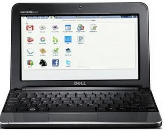 Google Chrome OS on Dell mini