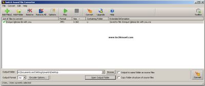 Free WMA to mp3 converter Windows