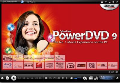 Download PowerDVD 9 free