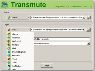 Transfer bookmarks between Chrome Firefox and Internet explorer Transmute