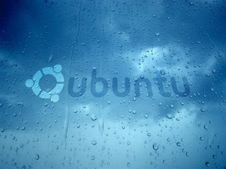 Ubuntu its raining