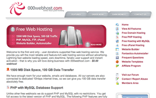 000webhost free wordpress hosting