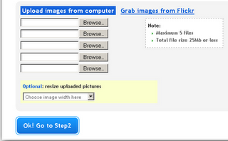 Watermark images online