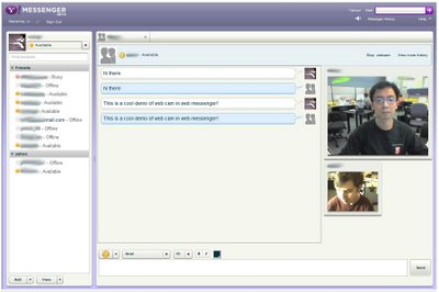 yahoo web messenger , yahoo presence,yahoo online in websites ,add yahoo online status on blogger