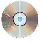 Recover files from scratched CD DVD