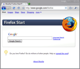 Firefox 3 theme for Google chrome