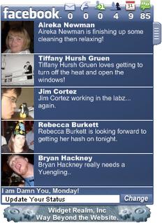 Open Facebook from desktop