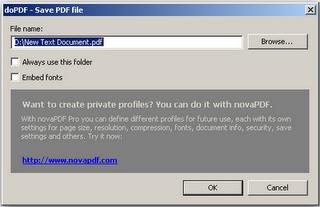 DoPDF free PDF converter