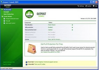Outpost free Firewall