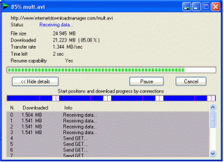 Increase Windows internet download speed with download accelerators
