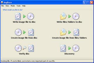 download Imgburn Freeware CD DVD burning softwares for Windows