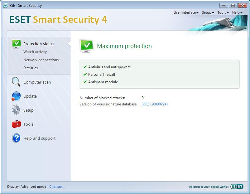 ESET Smart Security 4 + License Key 2
