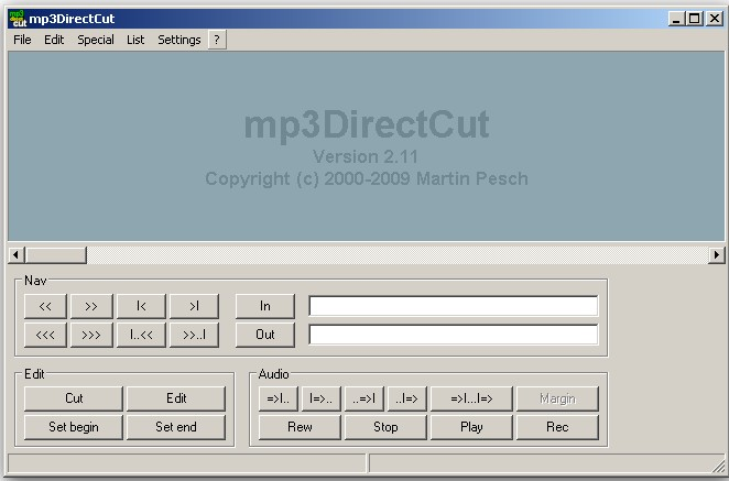 Free MP3 cutter Windows