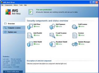 AVG antivirus 9