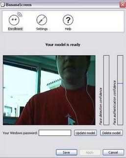 Face recognition software BananaScreen